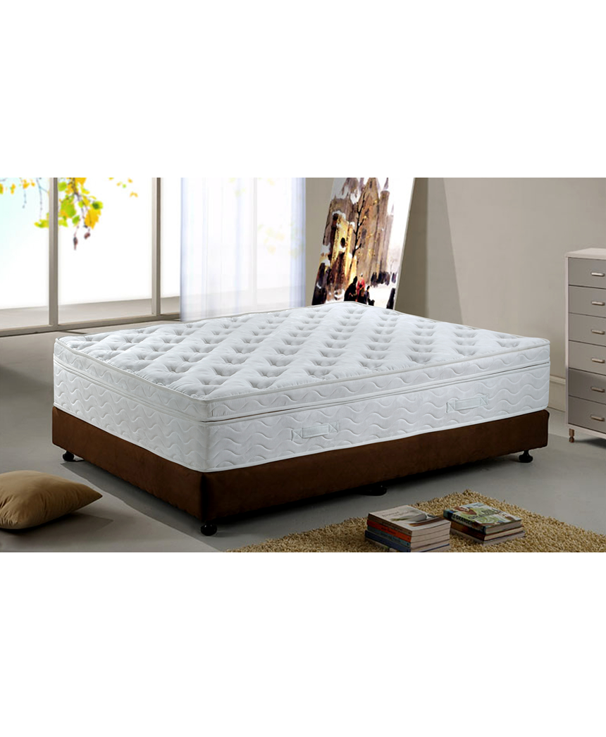 low priced 25bab 404c9 Mirabeau Pillow Top Delux, 4cm Latex, Firm Tension Pocket Spring Mattress,  King Extra