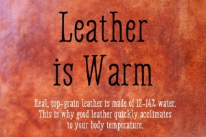 leather-is-warm
